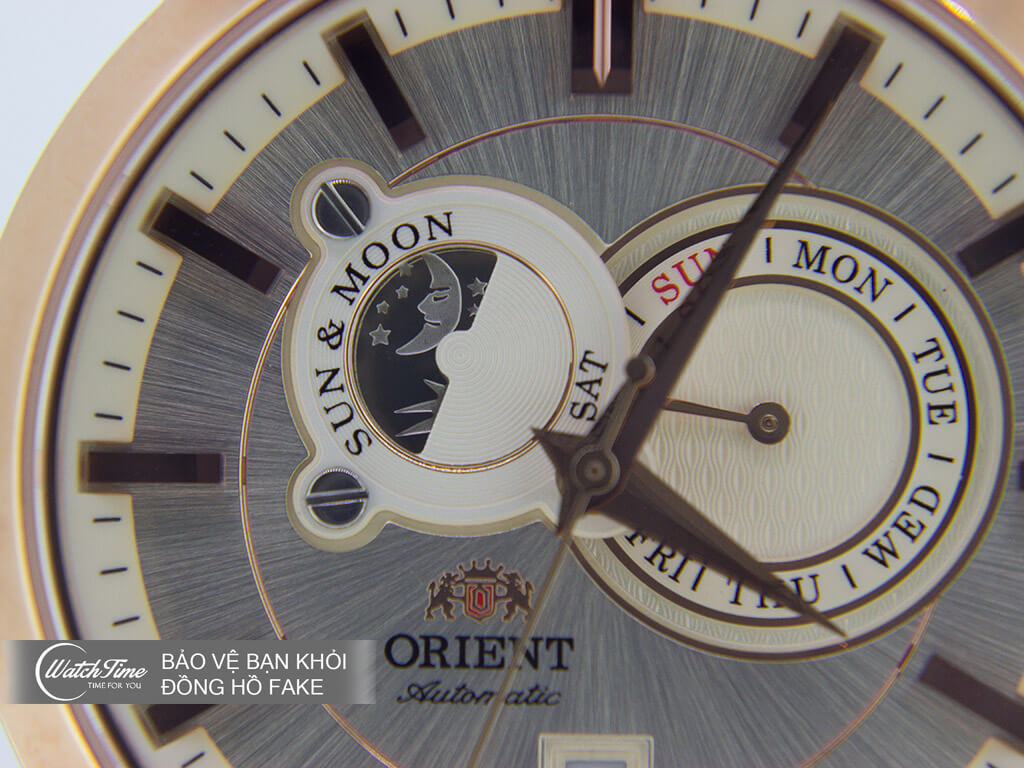 Đồng hồ Orient Sun and Moon FET0P001W0