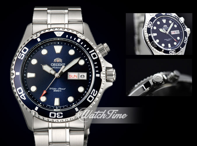Đồng hồ Orient Ray Blue FEM65009D9 - Ray 1